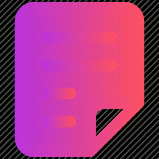 design, document, file, page, paper, web icon