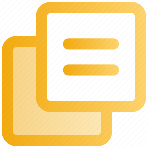 copy, documents, duplicate, file, pages, papers, web icon