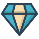 adamant, crystal, diamond, finance, gemstone, qualified, web icon