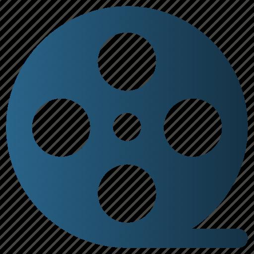 Cinema, entertainment, film, film reel, movie, reel, video icon - Download on Iconfinder