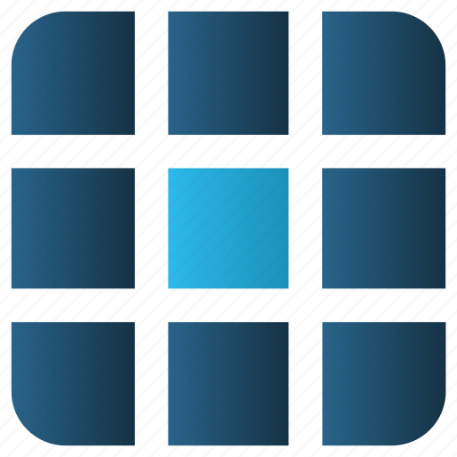Apps, arrange, array, grid, layout, menu, view icon - Download on Iconfinder