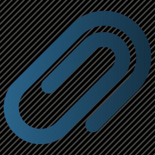 Attach, attachment, clip, paper clip icon - Download on Iconfinder
