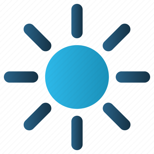 Brightness, hot, sun, sunny, sunshine icon - Download on Iconfinder