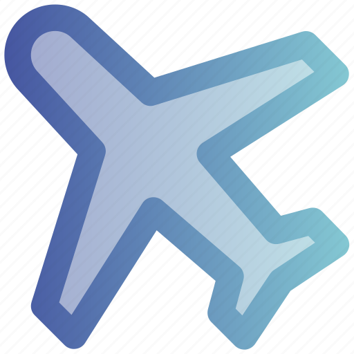 airplane, flight, fly, mode, plane, transport, travel icon
