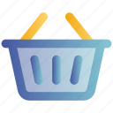 bucket, cart, online, shopping, web