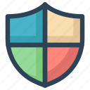 antivirus, protection, secure, security, shape, shield icon