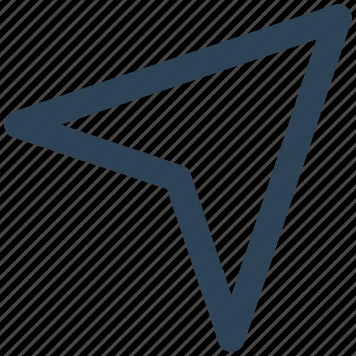 arrow, cursor, email, message, send, web icon