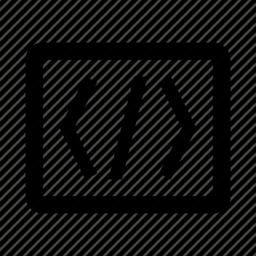 code, coding, development, programming, web, window icon