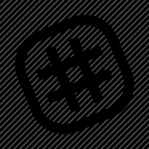 communication, hashtag, lattice, messenger, slack icon