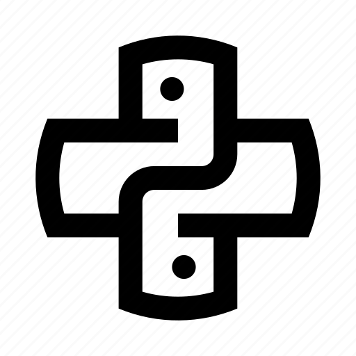 code, coding, development, language, programming, python icon