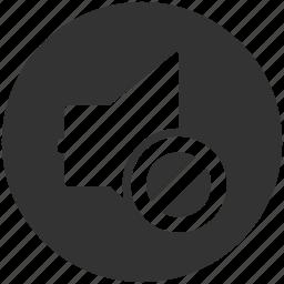 audio, information, media, mute, sound, sound off, volume icon