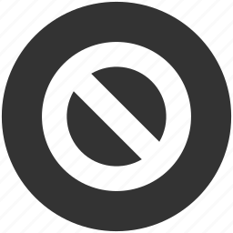 ban, cancel, closed, forbidden, no entry, restricted, stop icon