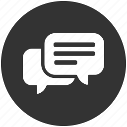 bubble, chat, chat bubble, chatting, comment, message, talk icon
