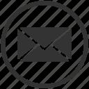 letter, message, email, envelope, mail