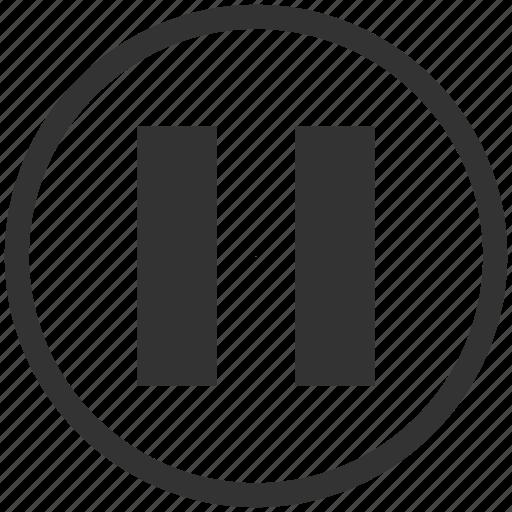 audio, media, music, pause, play, sound, stop icon