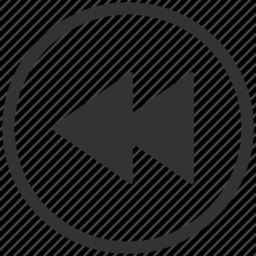arrows, media, movie, play, player, sound, video icon