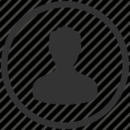 account, avatar, male, people, person, profile, user icon