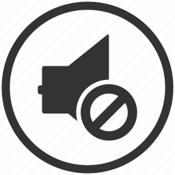 media, multimedia, mute, sound, speaker, volume icon