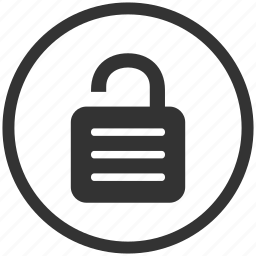 protect, protection, safe, safety, secure, unlock icon