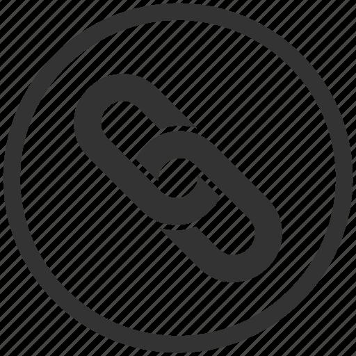 anchor, chain, hyperlink, internet, link, url, web icon