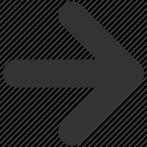 arrow, expand, forward, next, right icon
