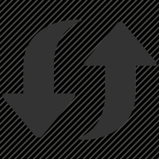 arrow, arrows, eco, refresh, reload, renew, update icon