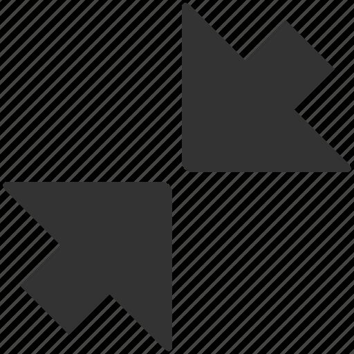 arrow, arrows, expand, minimize, zoom icon