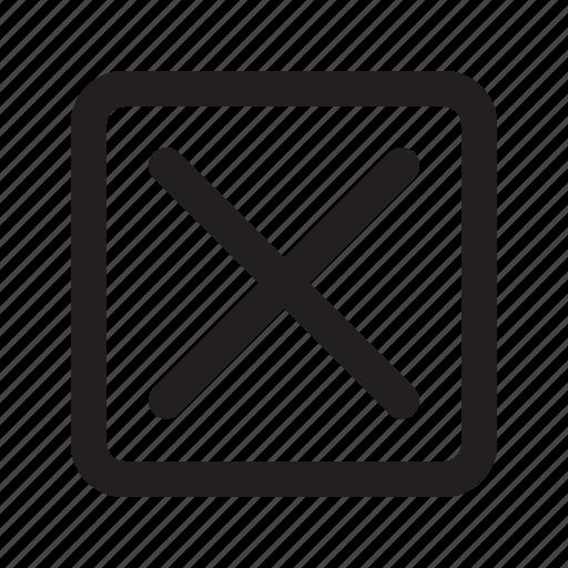 Close, delete, remove, cancel icon - Download on Iconfinder