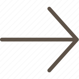 arrow, right, web icon