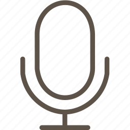 microphone, music, web icon