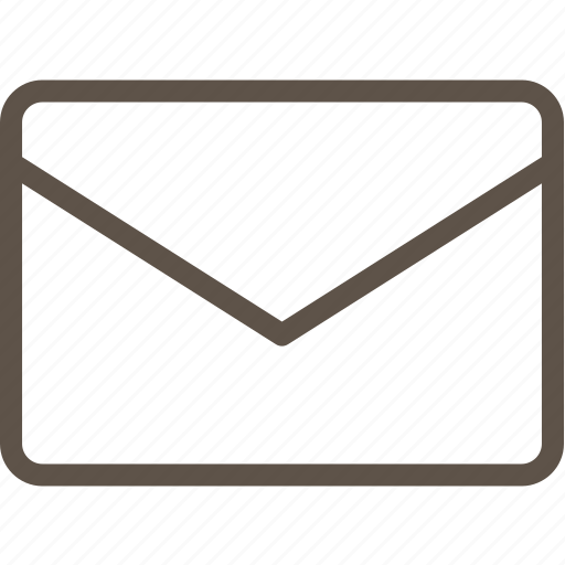 box, letter, message, web icon