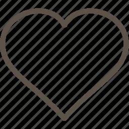 heart, love, web icon