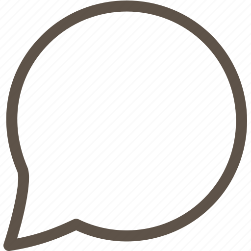 circle, dialogue, ring, web icon