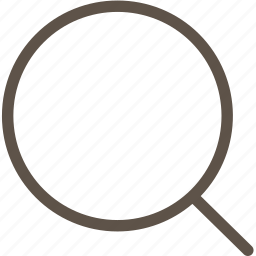 circle, ring, search, web icon