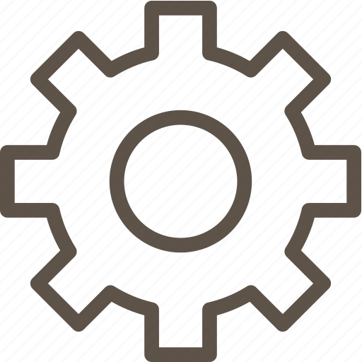 circle, ring, setting, web icon