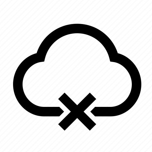 cloud, offline icon