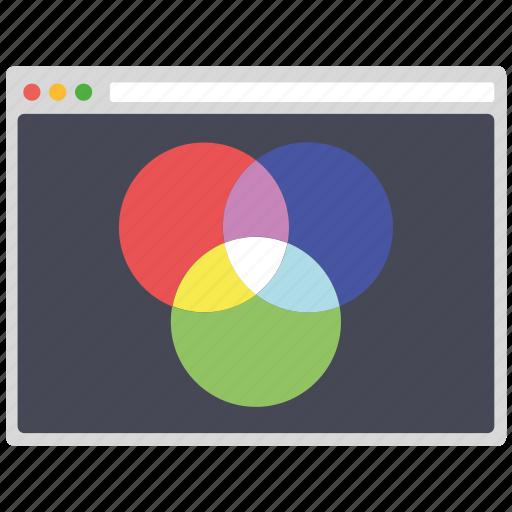 colormode, creative, design, page, seo, web, wordpress icon