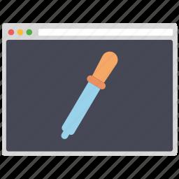 colorselect, creative, design, page, seo, web, wordpress icon