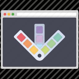 colortone, creative, design, page, seo, web, wordpress icon