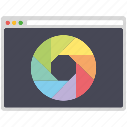 color, design, page, palette, seo, web, wordpress icon