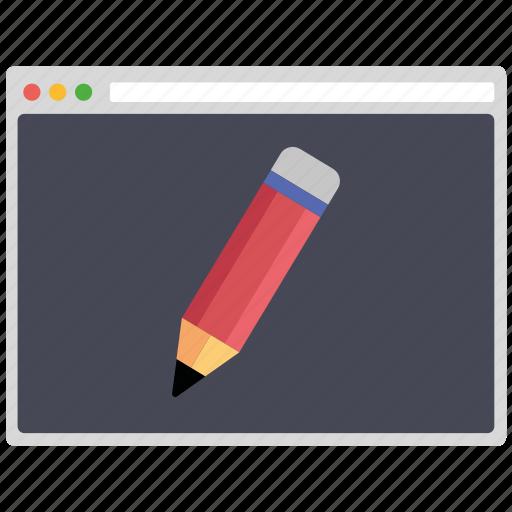 creative, design, edit, page, seo, web, wordpress icon