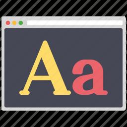 creative, design, font, page, seo, web, wordpress icon