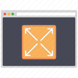 creative, design, fullscreen, page, seo, web, wordpress icon