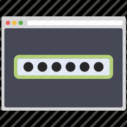 creative, design, page, password, seo, web, wordpress icon