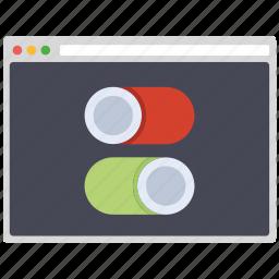 creative, design, page, preferences, seo, web, wordpress icon