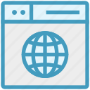 browser, international, page, web, webpage, website, world icon