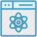 atom, browser, energy, page, web, webpage, website