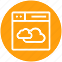 browser, cloud, page, sharing, web, webpage, website