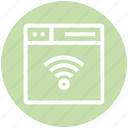 browser, page, signals, web, webpage, website, wifi