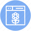 browser, flower, nature, page, web, webpage, website
